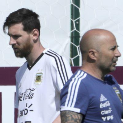 Messi Sampaoli