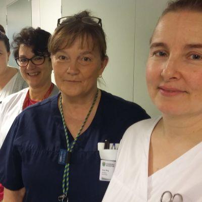 Personalen vid Ekenäs HVC:s bäddavdelning efterlyser frivilliga som erbjuder guldkant åt patienterna.