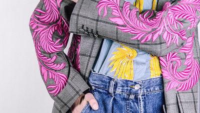 Dries Van Notenin suunnitteleman takin brodeerauskoristeita 310266308f