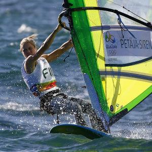 Tuuli Petäjä-Siren under OS i Rio.