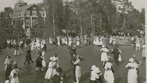 1920-luvun Mustikkamaan tanssipaikka