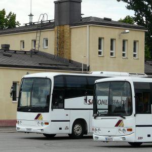 Busstationen i Lovisa