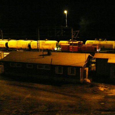 Tåg i Sköldvikd