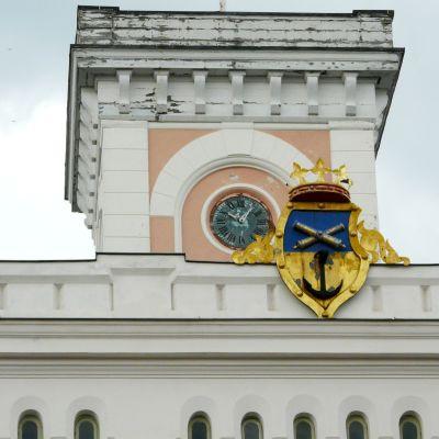 Tornet på Lovisa rådhus.