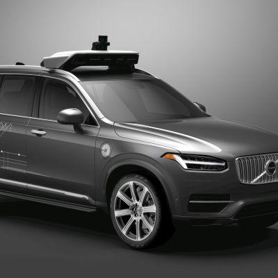 Volvon itseohjautuva auto