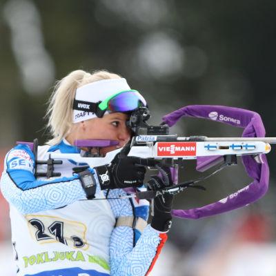 Mari Laukkanen, januari 2017.