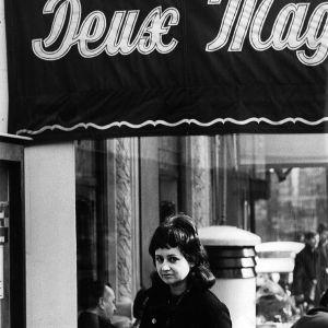 Toimittaja Eeva Lennon Pariisissa 1960-luvulla