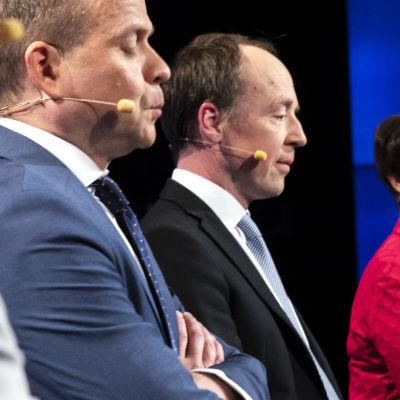 Petteri Orpo och Jussi Halla-aho