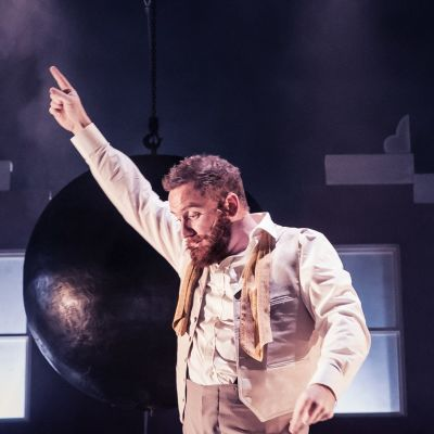 Foto från Dead Centres produktion Chekhov's first play