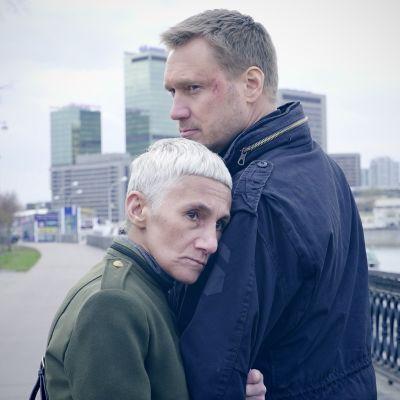 Pressikuva Tappajan näköinen mies -elokuvasta.