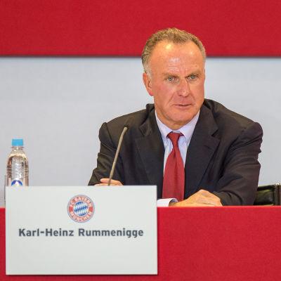 Karl-Heinz Rummenigge.