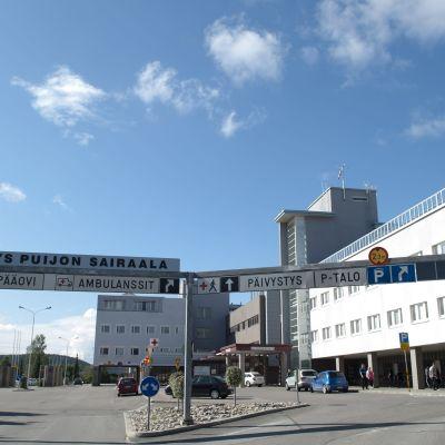 Kuopio universitetssjukhus (arkivbild från 2012)