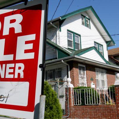 Yhdysvalloissa uudet asunnot käyvät tällä hetkellä paremmin kaupaksi kuin vanhat asunnot.