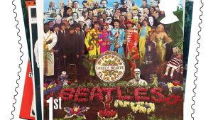 Beatles skivomslag har blivit frimärksmotiv i Stobritannien.