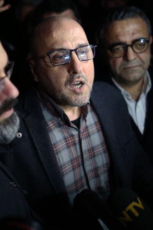 Reportern Ahmet Sik från tidningen Cumhuriyet