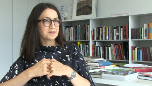 Mirjam Zadoff leder dokumentationscentret.