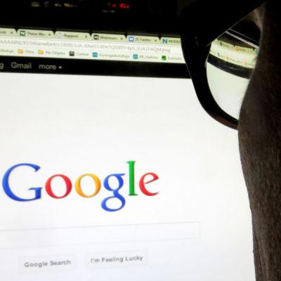 Googlen etusivu