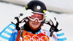 Alpin skidåkare