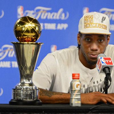 Kawhi Leonard bäst i finalserien i NBA 2014.