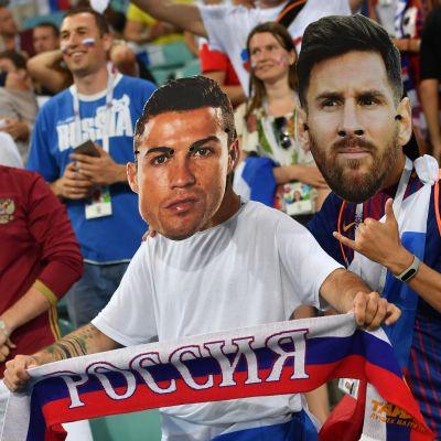 Ronaldo Messi