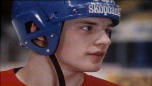 Christian Ruuttu som 20-åring.