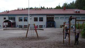 Näse skolas skolgård