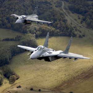 Jas gripen militärflygplan