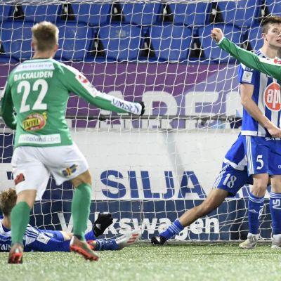 Rick Ketting ratkaisi ottelun IFK Mariehamnille.