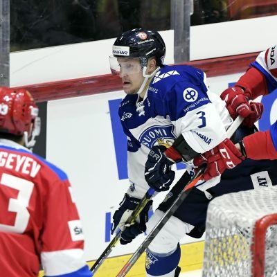 Teemu Pulkkinen oli paha pideltävä Venäjälle.