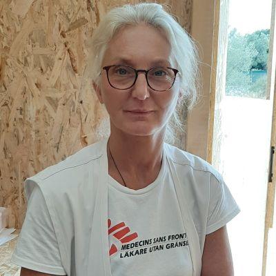 Tina Dahl från Läkare utan gränser