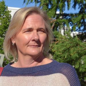 Laila Andersson är mattlidens rektor, tisdagssnackare