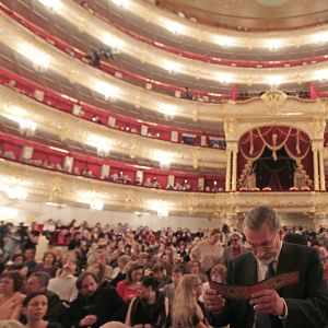 Bolsjojteatern i Moskva.