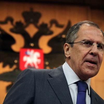 Den ryske utrikesministern Sergei Lavrov.