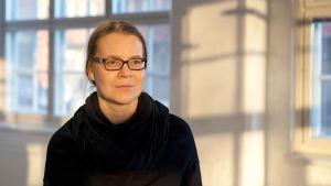 Ulrika Ferm, professor på Bildkonstakademin i Helsingfors