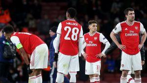 Arsenalspelare deppar.