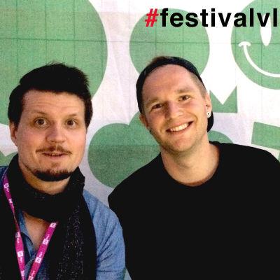 Tommy Nordlund och Niclas Runeberg på Flow 2015