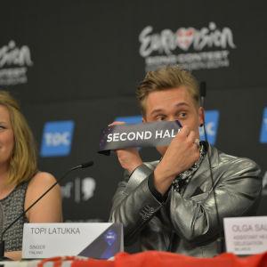 Topi Latukka från Softengine har dragit Finland startposition i finalen.
