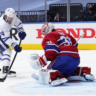 Kasperi Kapanen pohjusti joukkueelle komean 2–0-maalin NHL:n harjoitusottelussa