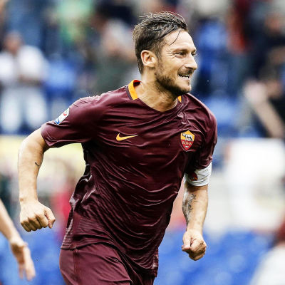 Francesco Totti, hösten 2016.