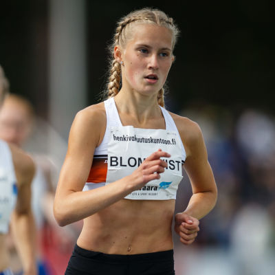 Nathalie Blomqvist under Kalevaspelen 2019.