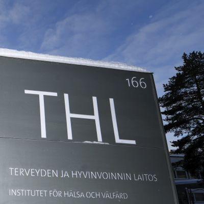 Institutet för hälsa och välfärd THL i Helsingfors.