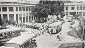 Aukio Léopoldvillessä vuonna 1943