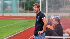 EIF:s tränare Stefan Strömborg.