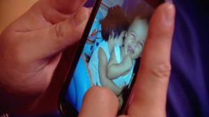 Glenn Fajardos barn är kvar i Filippinerna