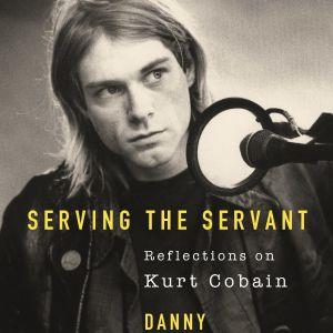 Bild på Kurt Cobain som sitter vid en mikrofon