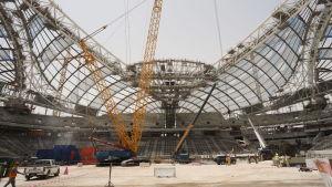 Al Wakrah-stadion ska stå klar 2019.