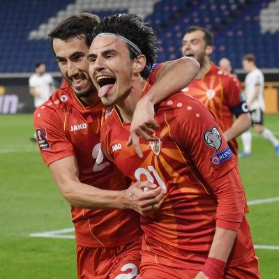 Eljif Elmas har gjort mål mot Tyskland.