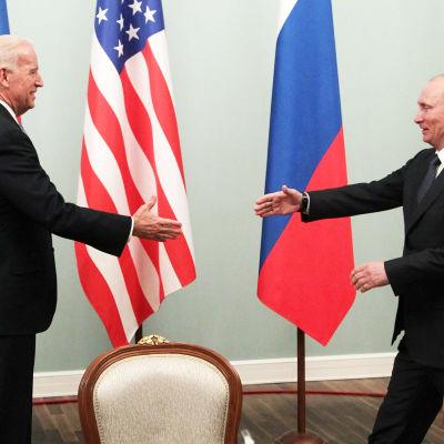 Biden ja Putin tapaavat.