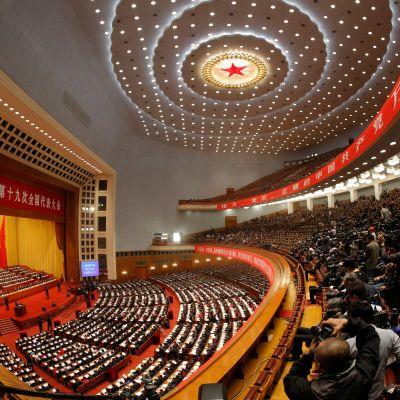Pekingissä alkoi tänään Kiinan kommunistisen puolueen 19. puoluekokous.