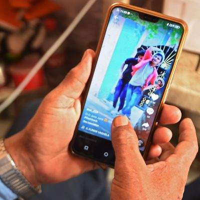 Applikationen Tik Tok hör till de kinesiska applikationer som förbjudits i Indien